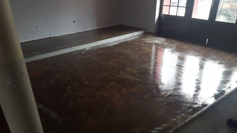 Primaire accrochage sol resine garage