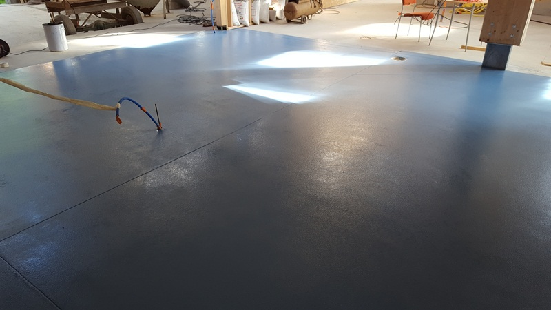 Sol resine epoxy industriel finition brillante 3