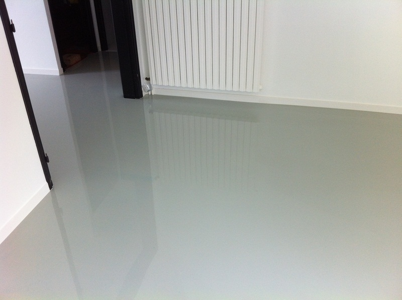 sol resine epoxy finition brillante 5