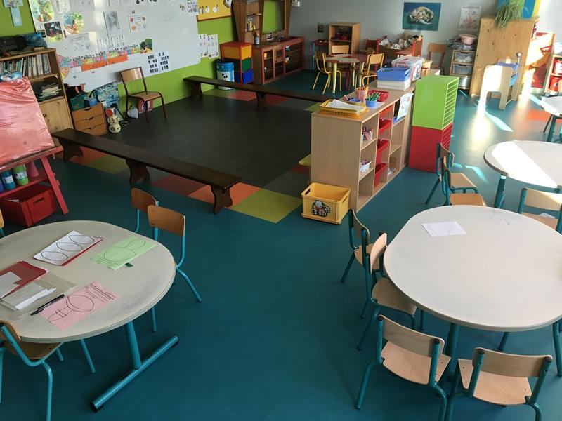Dalles PVC Ecole Francois Tanguy Lorient 1