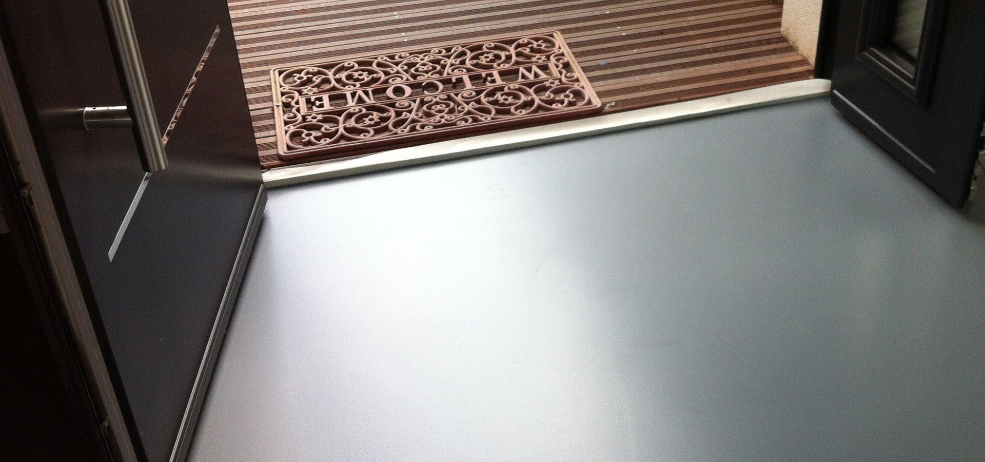 Sol resine Polyurethane mat autolississant