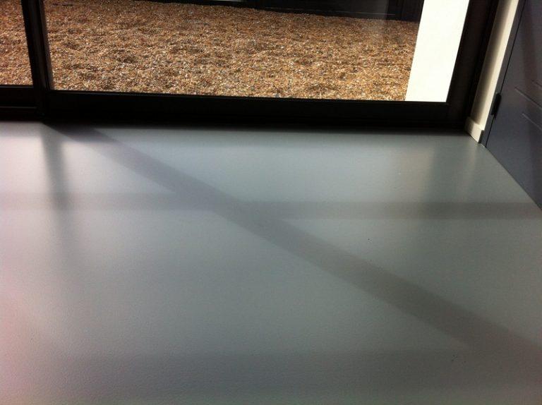 Sol resine Polyurethane aspect mat autolissant 2
