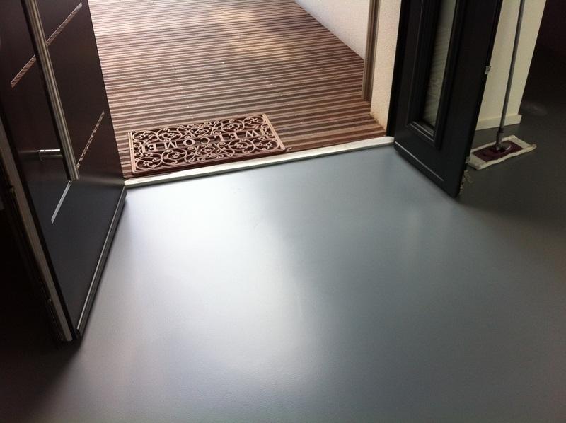 Sol resine Polyurethane aspect mat autolissant 3