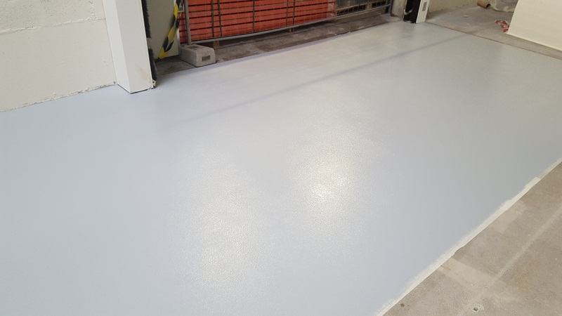 Sol resine epoxy industriel finition mat