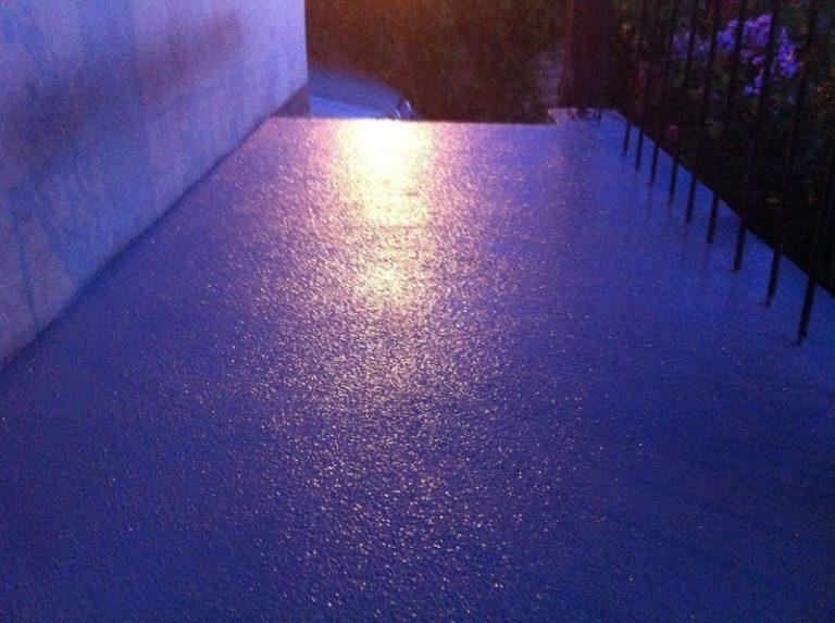 Sol resine epoxy antiderapant