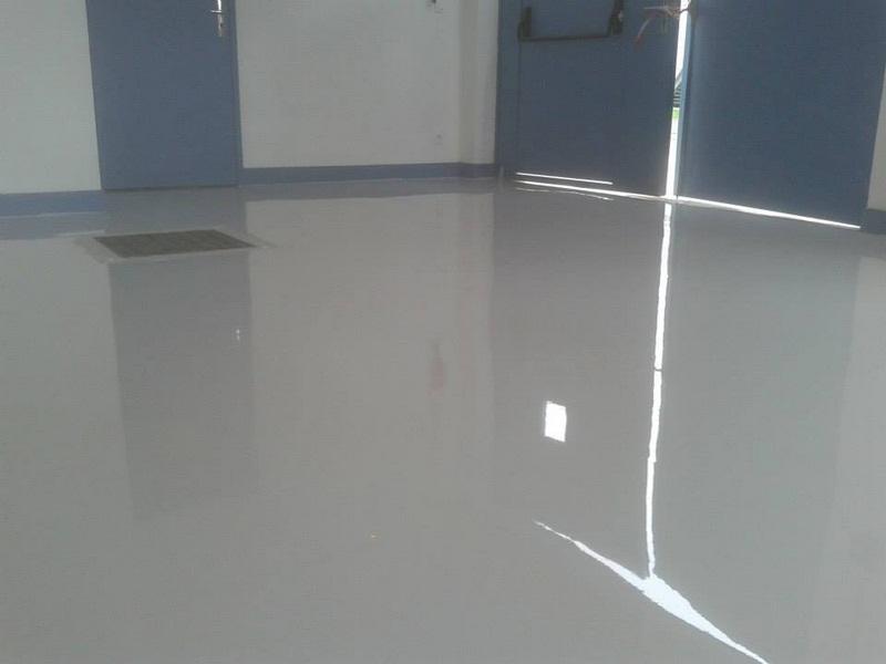 Sol resine epoxy bureaux