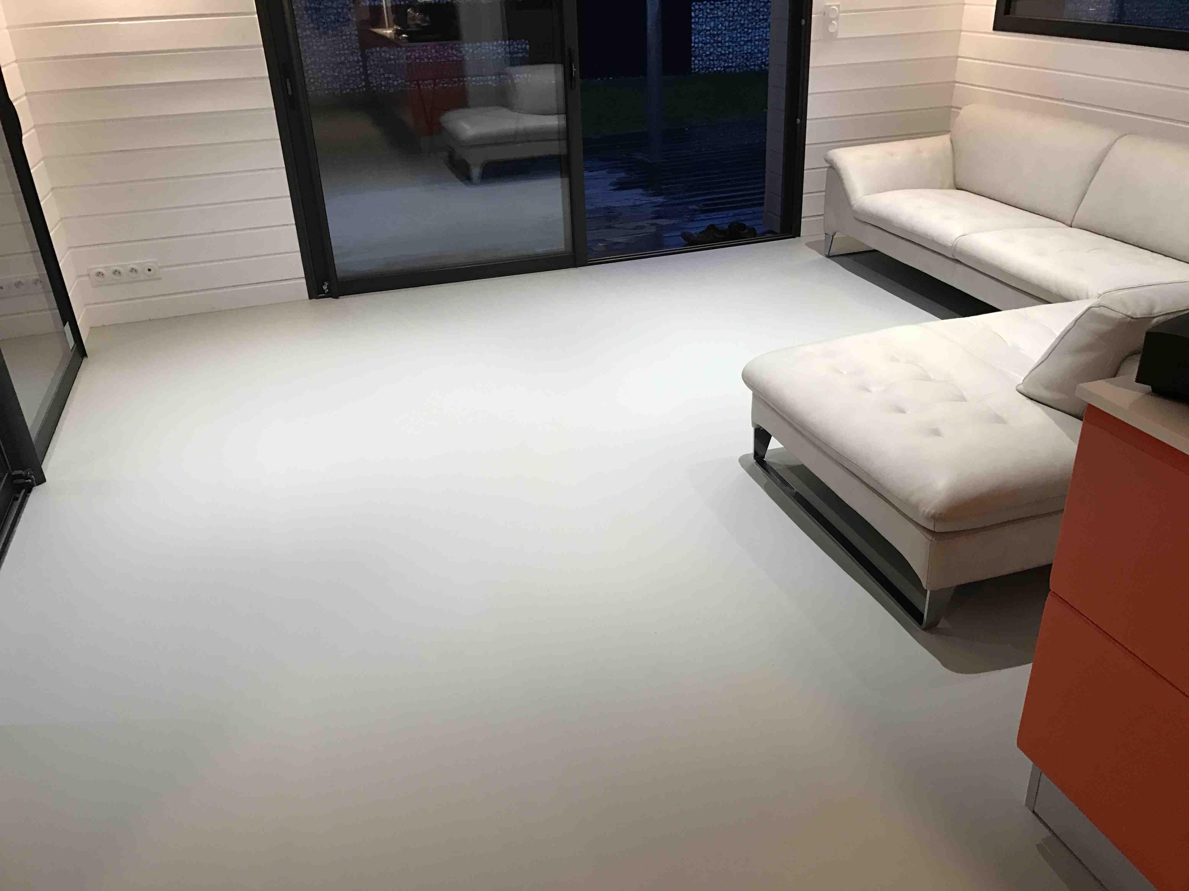 Sol Residence resine polyurethane