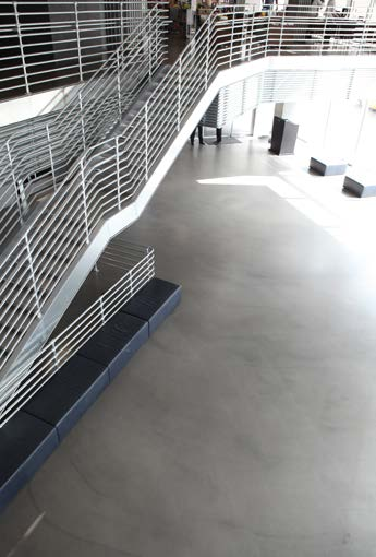 Ultratop system Mapei beton cire